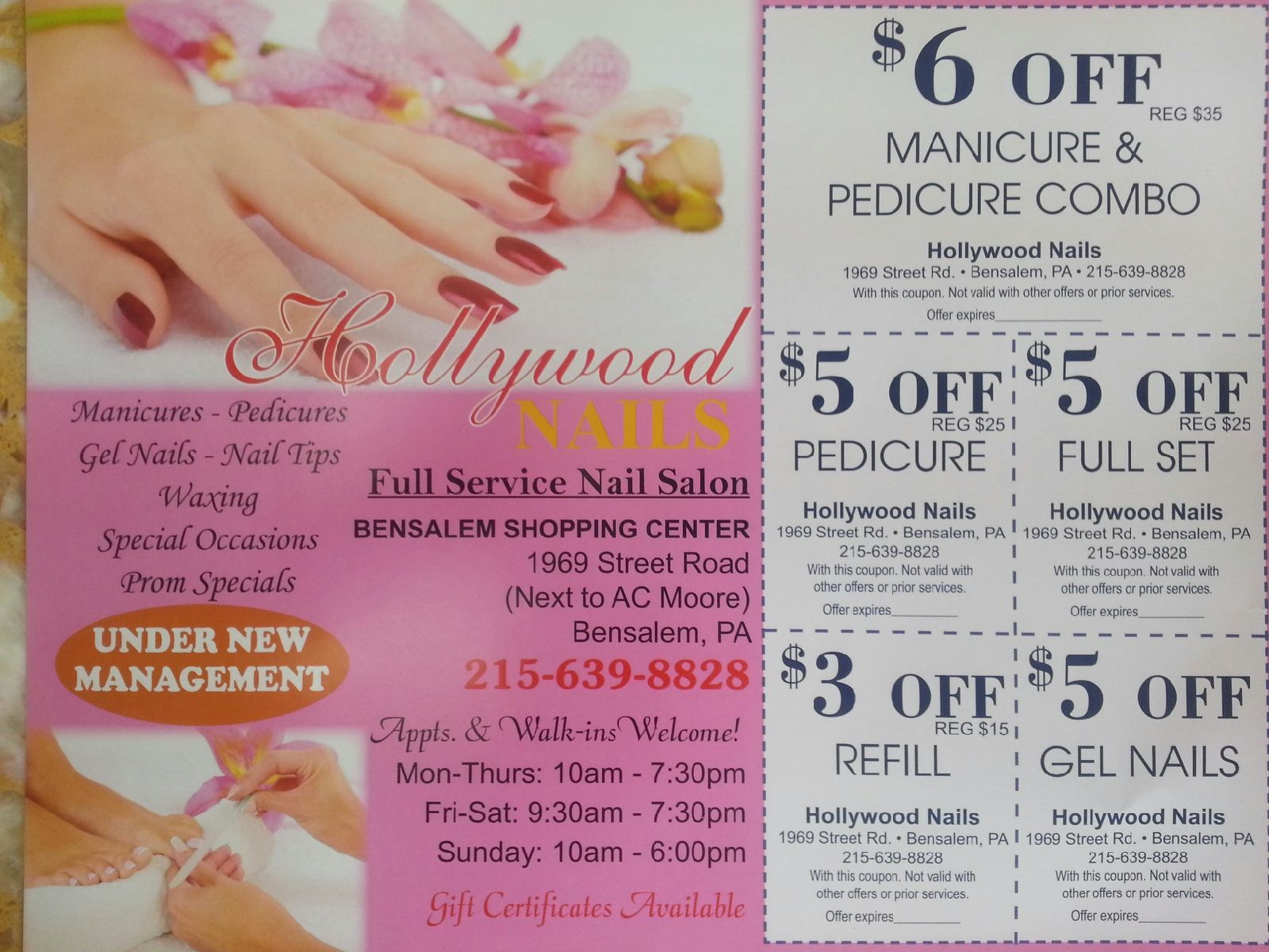 Manicure And Pedicure Coupons Near Me Papillon Day Spa